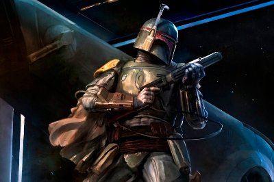 Quadro Star Wars - Boba Fett 3