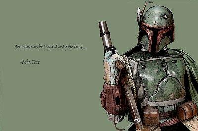 Quadro Star Wars - Boba Fett 4