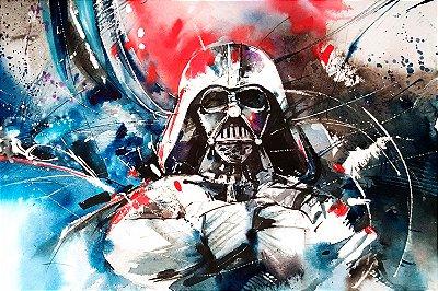Quadro Star Wars - Darth Vader Pintura
