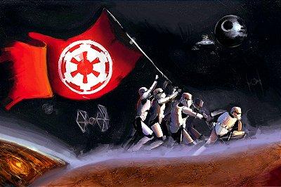 Quadro Star Wars - Império Artístico