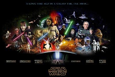 Quadro Star Wars - Filmes