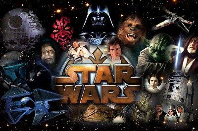 Quadro Star Wars - Filmes 2