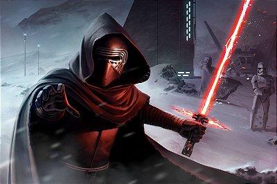 Quadro Star Wars - Kylo Ren 2