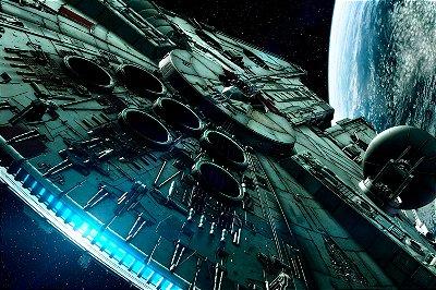 Quadro Star Wars - Millenium Falcon 4