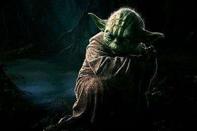 Quadro Star Wars - Mestre Yoda 2