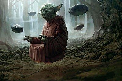 Quadro Star Wars - Mestre Yoda 3