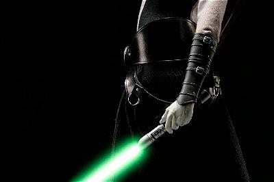 Quadro Star Wars - Sabre de Luz Verde 2