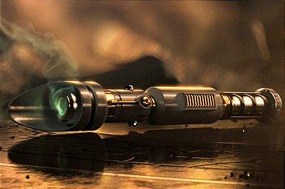 Quadro Star Wars - Sabre de Luz Verde