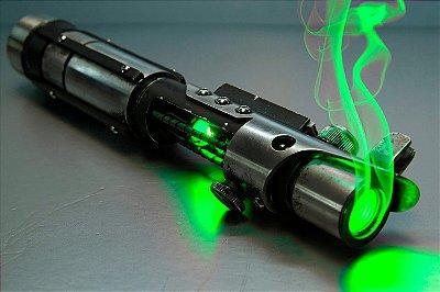 Quadro Star Wars - Sabre de Luz Verde 3