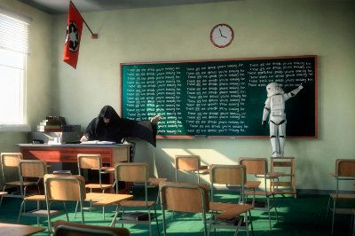 Quadro Star Wars - Escola dos Sith