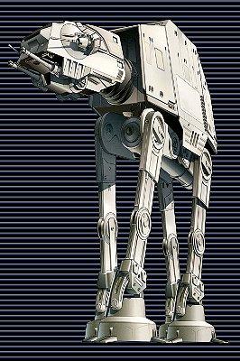 Quadro Star Wars - At-At Walker 3