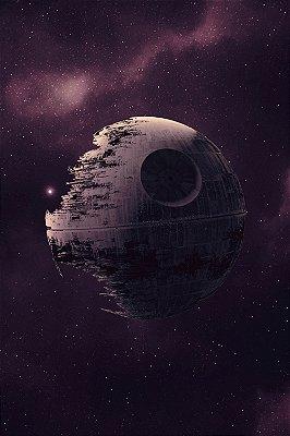 Quadro Star Wars - Estrela da Morte