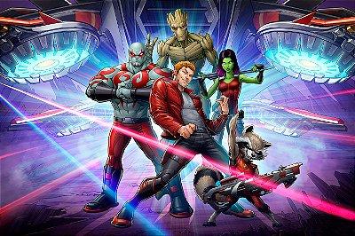 Quadro Guardiões da Galáxia - HQ