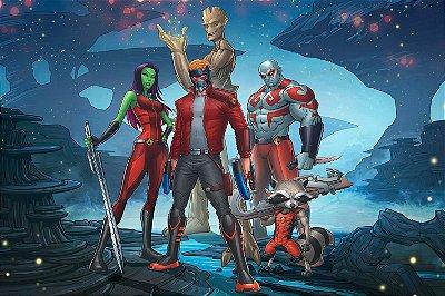 Quadro Guardiões da Galáxia - HQ 3