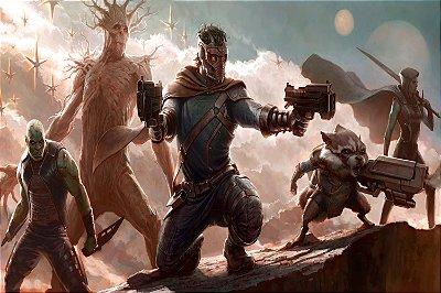 Quadro Guardiões da Galáxia - Artístico 4