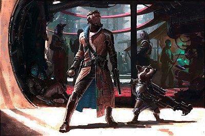 Quadro Guardiões da Galáxia - Artístico 6