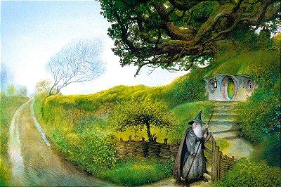 Quadro O Senhor dos Anéis - Gandalf Pintura 2