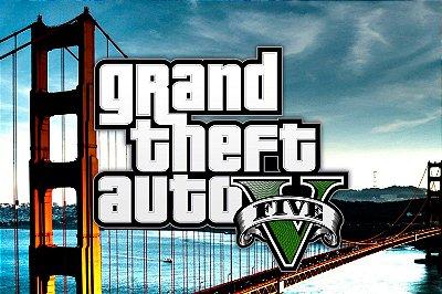 Quadro Gamer GTA - Grand Theft Auto V 2