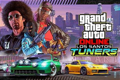 Quadro Gamer GTA - Los Santos Tuners