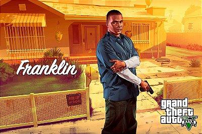 Quadro Gamer GTA V - Franklin
