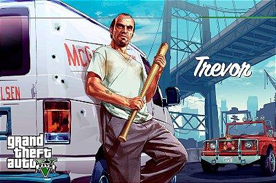 Quadro Gamer GTA V - Trevor