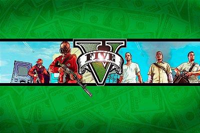 Quadro Gamer GTA V - Money