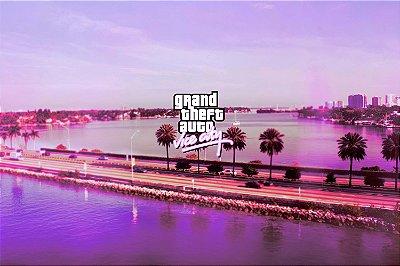 Quadro Gamer GTA - Vice City