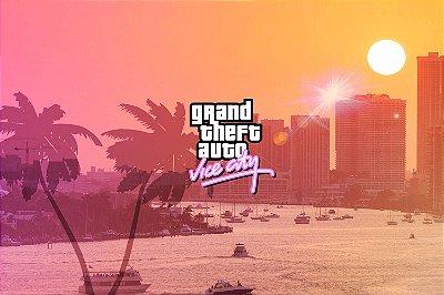Quadro Gamer GTA - Vice City 2