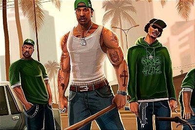 Quadro Gamer GTA - San Andreas CJ