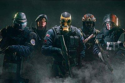 Quadro Gamer Rainbow Six - Operadores