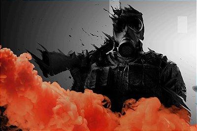 Quadro Gamer Rainbow Six - Smoke
