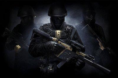 Quadro Gamer Rainbow Six - Elite