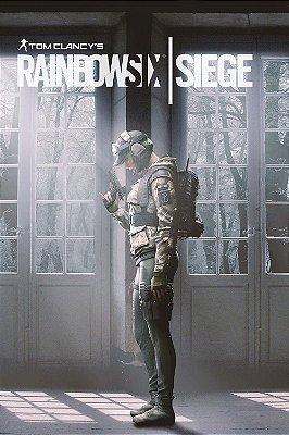 Quadro Gamer Rainbow Six - Ela 2
