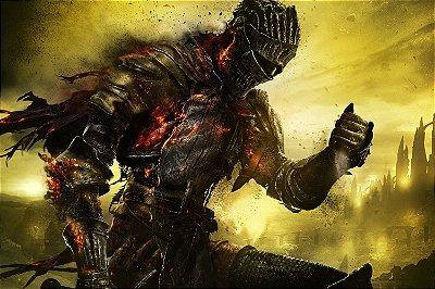 Quadro Gamer Dark Souls 3 - Firelink Armor