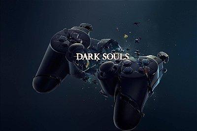 Quadro Gamer Dark Souls - Controle
