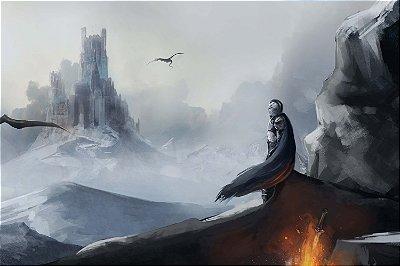 Quadro Gamer Dark Souls - Artístico