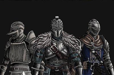 Quadro Gamer Dark Souls - Minimalista 5