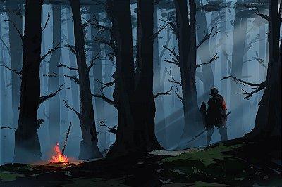 Quadro Gamer Dark Souls - Artístico 3