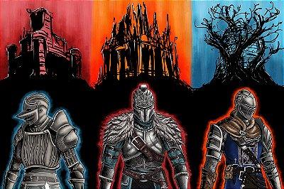 Quadro Gamer Dark Souls - Artístico 5