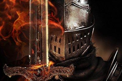 Quadro Gamer Dark Souls - Guerreiro 6