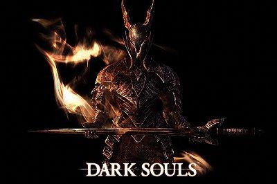Quadro Gamer Dark Souls - Espada