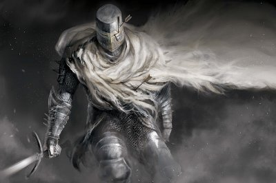 Quadro Gamer Dark Souls - Guerreiro 7