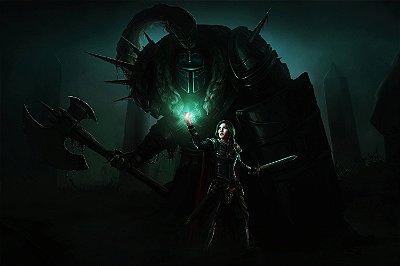 Quadro Gamer Dark Souls - Confronto 2