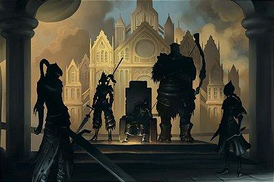 Quadro Gamer Dark Souls - Sombras 2