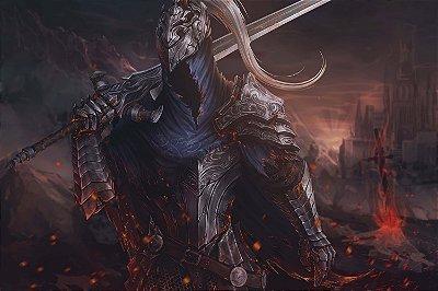Quadro Gamer Dark Souls - Boss Artístico 4