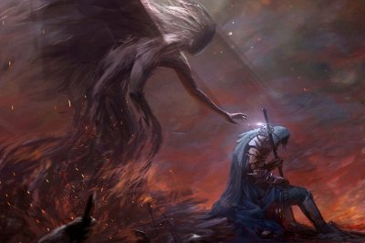 Quadro Gamer Dark Souls - Artístico 6