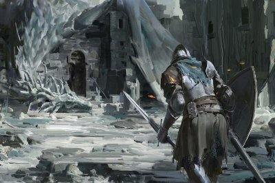 Quadro Gamer Dark Souls - Artístico 8