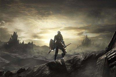 Quadro Gamer Dark Souls - Paisagem