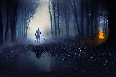 Quadro Gamer Dark Souls - Lago