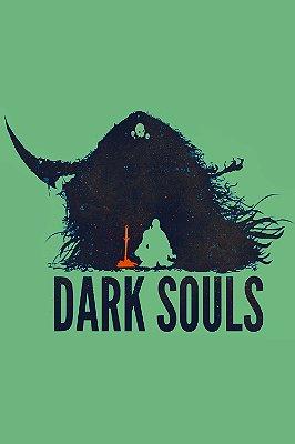 Quadro Gamer Dark Souls - Minimalista 6